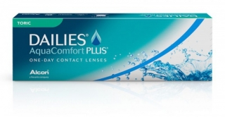 линзы Focus DAILIES AquaComfort Plus TORIC, Alcon